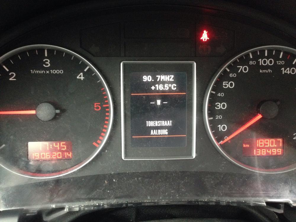 Autobedrijf Wout Bouman - Audi A4 bomvol foutcodes na